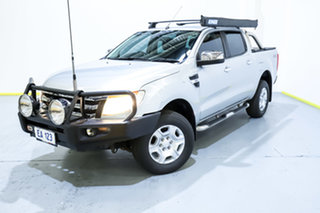 2014 Ford Ranger PX XLT Super Cab Silver 6 Speed Manual Utility.
