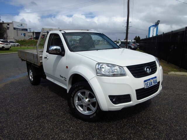 Used Great Wall V200 K2 (4x4) Wangara, 2012 Great Wall V200 K2 (4x4) White 6 Speed Manual Cab Chassis