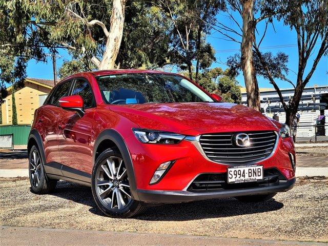 Used Mazda CX-3 DK4W7A sTouring SKYACTIV-Drive i-ACTIV AWD St Marys, 2016 Mazda CX-3 DK4W7A sTouring SKYACTIV-Drive i-ACTIV AWD Red 6 Speed Sports Automatic Wagon