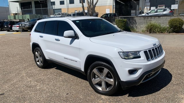 Used Jeep Grand Cherokee WK MY15 Limited (4x4) Underwood, 2015 Jeep Grand Cherokee WK MY15 Limited (4x4) White 8 Speed Automatic Wagon