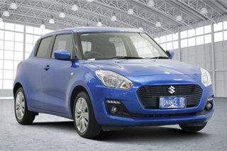 2018 Suzuki Swift AZ GL Blue 1 Speed Constant Variable Hatchback.