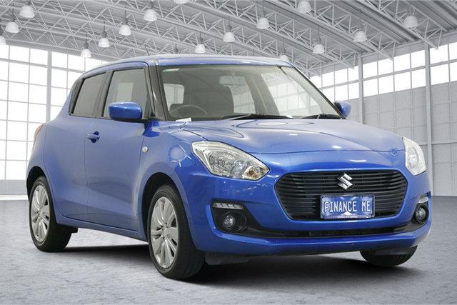 Used Suzuki Swift AZ GL Victoria Park, 2018 Suzuki Swift AZ GL Blue 1 Speed Constant Variable Hatchback