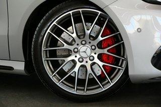 2016 Mercedes-Benz A-Class W176 807MY A45 AMG SPEEDSHIFT DCT 4MATIC Silver 7 Speed.