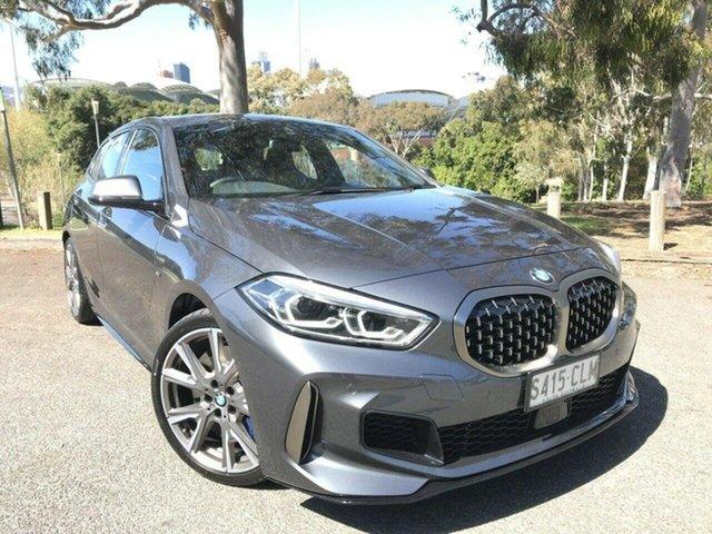 Used BMW 1 Series F40 M135i Steptronic xDrive Adelaide, 2020 BMW 1 Series F40 M135i Steptronic xDrive Grey 8 Speed Sports Automatic Hatchback