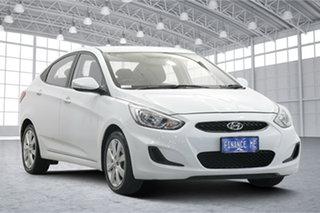 2017 Hyundai Accent RB5 MY17 Sport White 6 Speed Sports Automatic Sedan.
