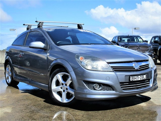 Used Holden Astra AH MY07 SRi Brookvale, 2007 Holden Astra AH MY07 SRi Silver 6 Speed Manual Coupe