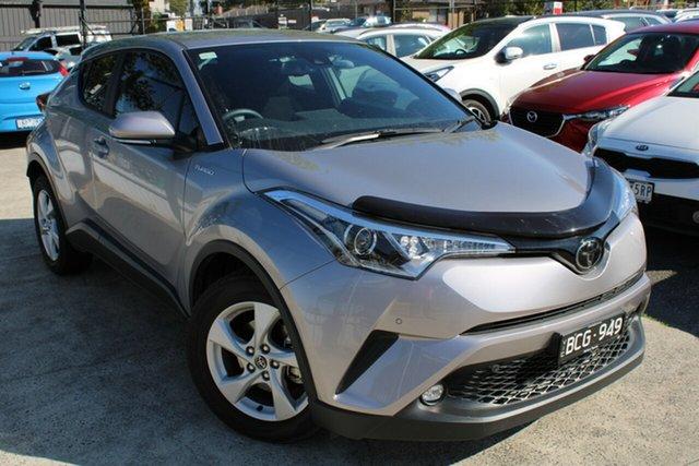 Used Toyota C-HR NGX10R S-CVT 2WD Ferntree Gully, 2019 Toyota C-HR NGX10R S-CVT 2WD Silver 7 Speed Constant Variable Wagon