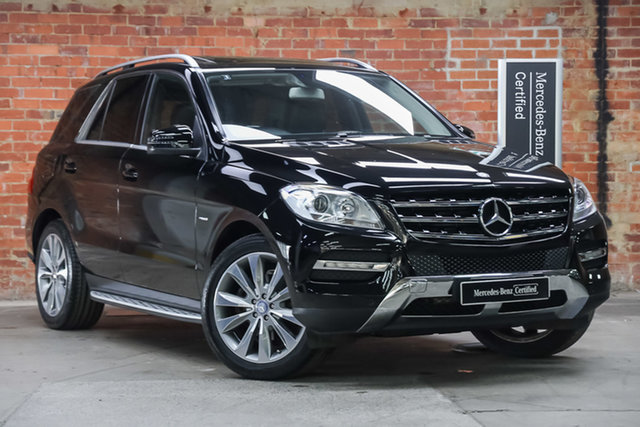 Certified Pre-Owned Mercedes-Benz M-Class W166 ML250 BlueTEC 7G-Tronic + Mulgrave, 2012 Mercedes-Benz M-Class W166 ML250 BlueTEC 7G-Tronic + Non Metalic Black 7 Speed Sports Automatic