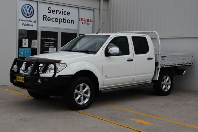 Used Nissan Navara D40 S5 MY12 ST-X 550 Rutherford, 2013 Nissan Navara D40 S5 MY12 ST-X 550 White 7 Speed Sports Automatic Utility