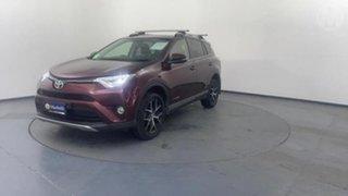 2017 Toyota RAV4 ALA49R MY18 GXL (4x4) Moulin Rouge 6 Speed Automatic Wagon