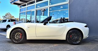 2021 Mazda MX-5 ND GT SKYACTIV-MT RS White 6 Speed Manual Roadster