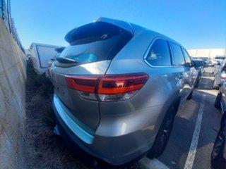 2017 Toyota Kluger GSU50R MY17 GX (4x2) Silver 8 Speed Automatic Wagon.