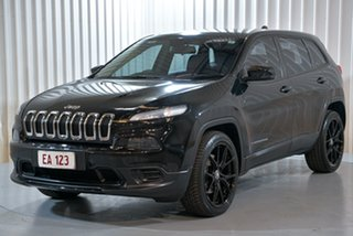 2014 Jeep Cherokee KL Sport Black 9 Speed Sports Automatic Wagon.