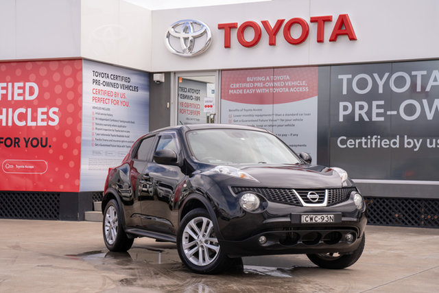 Pre-Owned Nissan Juke F15 TI-S (AWD) Guildford, 2014 Nissan Juke F15 TI-S (AWD) Black Continuous Variable Wagon