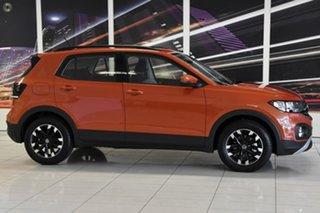 2021 Volkswagen T-Cross C1 MY21 85TSI DSG FWD Life Orange 7 Speed Sports Automatic Dual Clutch Wagon