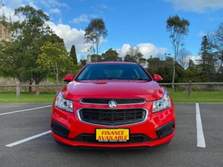2015 Holden Cruze JH Series II MY16 Equipe Red 6 Speed Sports Automatic Sedan.