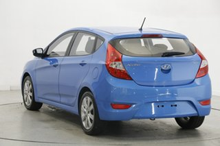2018 Hyundai Accent RB6 MY18 Sport Blue 6 Speed Sports Automatic Hatchback.