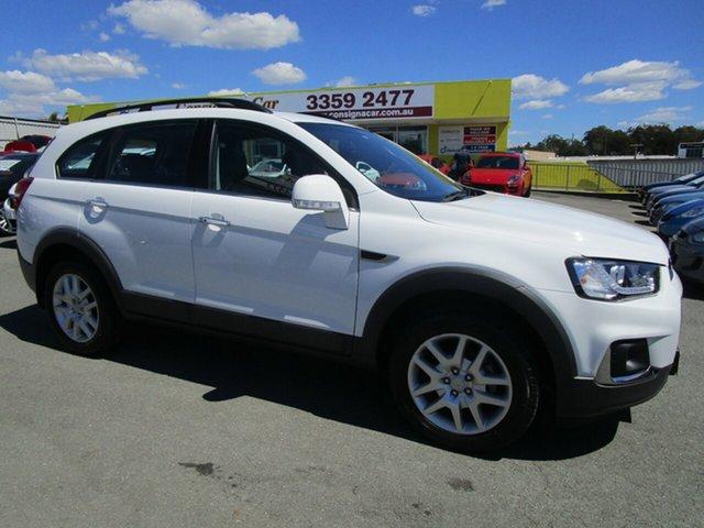 Used Holden Captiva CG MY17 Active 2WD Kedron, 2017 Holden Captiva CG MY17 Active 2WD White 6 Speed Sports Automatic Wagon