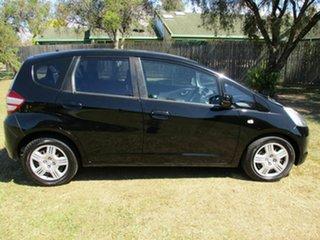 2009 Honda Jazz GE MY09 GLi Black 5 Speed Automatic Hatchback.