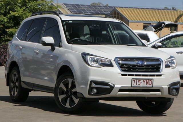 Used Subaru Forester S4 MY18 2.5i-L CVT AWD Luxury Bundamba, 2018 Subaru Forester S4 MY18 2.5i-L CVT AWD Luxury White 6 Speed Constant Variable Wagon