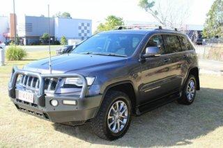 2013 Jeep Grand Cherokee WK MY2014 Laredo Grey 8 Speed Sports Automatic Wagon.
