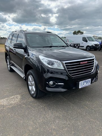 Used Haval H9 MY18 Ultra Warrnambool East, 2018 Haval H9 MY18 Ultra Black 8 Speed Automatic Wagon