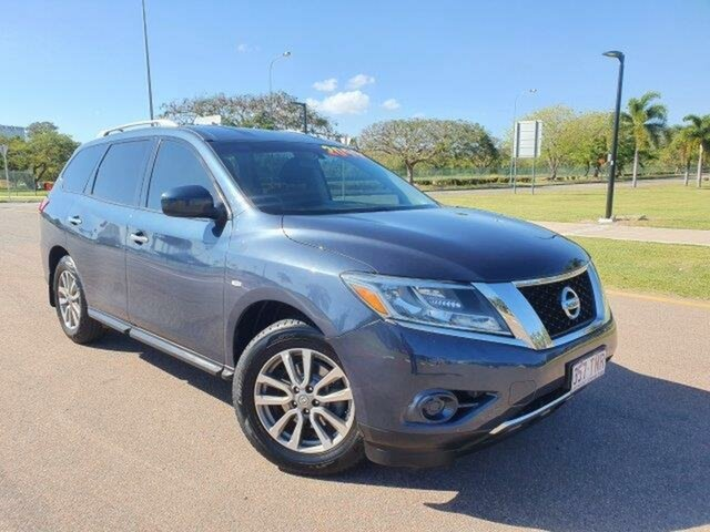 Used Nissan Pathfinder R52 MY14 ST X-tronic 2WD Townsville, 2013 Nissan Pathfinder R52 MY14 ST X-tronic 2WD Black 1 Speed Constant Variable Wagon