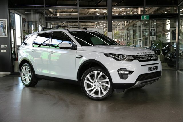 Used Land Rover Discovery Sport L550 16.5MY HSE North Melbourne, 2016 Land Rover Discovery Sport L550 16.5MY HSE White 9 Speed Sports Automatic Wagon