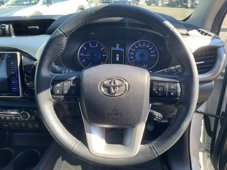 2016 Toyota Hilux GUN126R SR5 Double Cab Crystal White Pearl 6 Speed Sports Automatic Utility