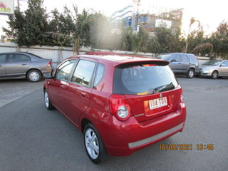 2011 Holden Barina TK MY11 Red 4 Speed Automatic Hatchback