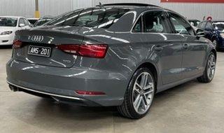 2017 Audi A3 8V MY17 Sport S Tronic Grey 7 Speed Sports Automatic Dual Clutch Sedan.