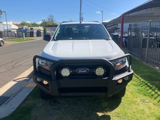 2018 Ford Ranger PX MkII MY18 XL 3.2 Plus (4x4) White 6 Speed Automatic Crew Cab Chassis