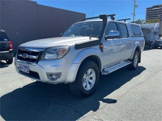 2010 Ford Ranger PK XLT (4x4) Silver Automatic Dual Cab Pick-up