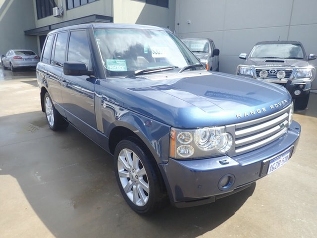 Used Land Rover Range Rover MY07 Vogue V8 Wangara, 2007 Land Rover Range Rover MY07 Vogue V8 Izmir Blue 6 Speed Auto Sequential Wagon