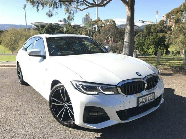 Used BMW 3 Series G20 320i Steptronic M Sport Adelaide, 2020 BMW 3 Series G20 320i Steptronic M Sport White 8 Speed Sports Automatic Sedan
