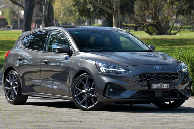 Used Ford Focus SA 2020.25MY ST Dandenong, 2020 Ford Focus SA 2020.25MY ST Grey 6 Speed Manual Hatchback