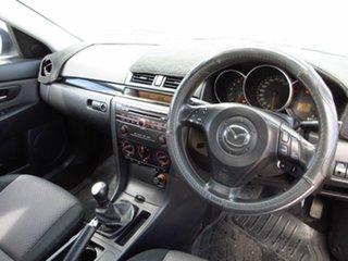 2005 Mazda 3 BK Maxx Grey 5 Speed Manual Sedan