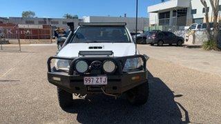 2010 Toyota Hilux KUN26R 09 Upgrade SR (4x4) White 5 Speed Manual Dual Cab Pick-up