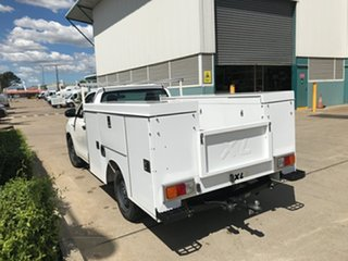 2016 Toyota Hilux TGN121R Workmate 4x2 White 6 speed Automatic Cab Chassis