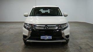 2017 Mitsubishi Outlander ZL MY18.5 ES 2WD ADAS Wicked White 6 Speed Constant Variable Wagon