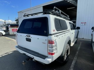 2011 Ford Ranger PK XL (4x4) White 5 Speed Manual Dual Cab Chassis.