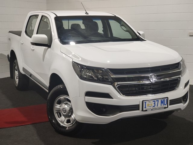 Used Holden Colorado RG MY19 LS Pickup Crew Cab Glenorchy, 2019 Holden Colorado RG MY19 LS Pickup Crew Cab White 6 Speed Sports Automatic Utility