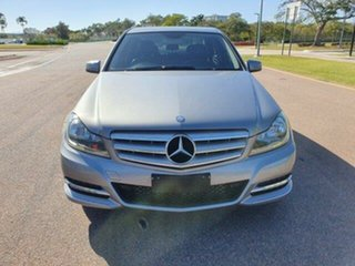 2012 Mercedes-Benz C-Class W204 MY12 C250 CDI BlueEFFICIENCY 7G-Tronic + Elegance Palladium 7 Speed.