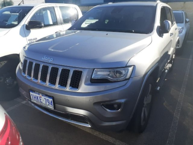 Pre-Owned Jeep Grand Cherokee WK MY14 Overland (4x4) Rockingham, 2014 Jeep Grand Cherokee WK MY14 Overland (4x4) 8 Speed Automatic Wagon