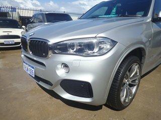 2018 BMW X5 F15 MY18 sDrive 25d M Sport Silver Leaf Met 8 Speed Automatic Wagon.