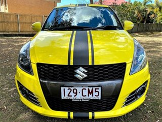2013 Suzuki Swift FZ Sport Yellow 7 Speed Constant Variable Hatchback.
