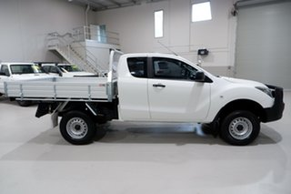 2016 Mazda BT-50 UR0YF1 XT Freestyle White 6 Speed Sports Automatic Cab Chassis