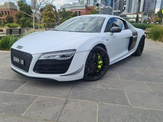 2014 Audi R8 MY14 Plus S Tronic Quattro White 7 Speed Sports Automatic Dual Clutch Coupe.