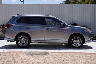 2021 Mitsubishi Outlander ZL MY21 PHEV AWD Exceed Titanium Grey 1 Speed Automatic Wagon Hybrid.