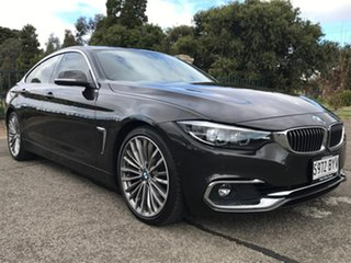 2018 BMW 4 Series F36 LCI 420i Gran Coupe Luxury Line Brown 8 Speed Sports Automatic Hatchback